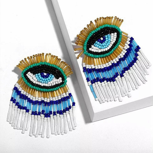Eye Love To party Earrings