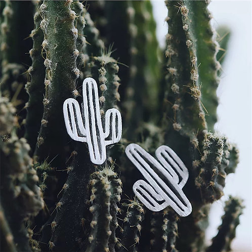 Cute Cactus Earrings