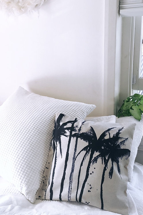 Tall Palm Trees Pillow Case