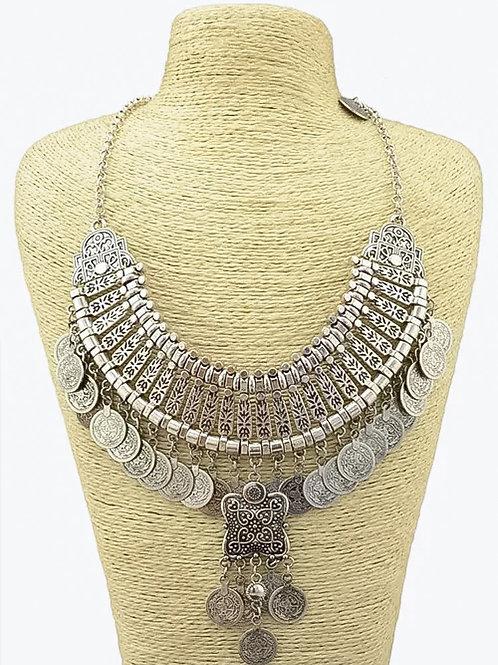 Gypsy Drop Coin Necklace