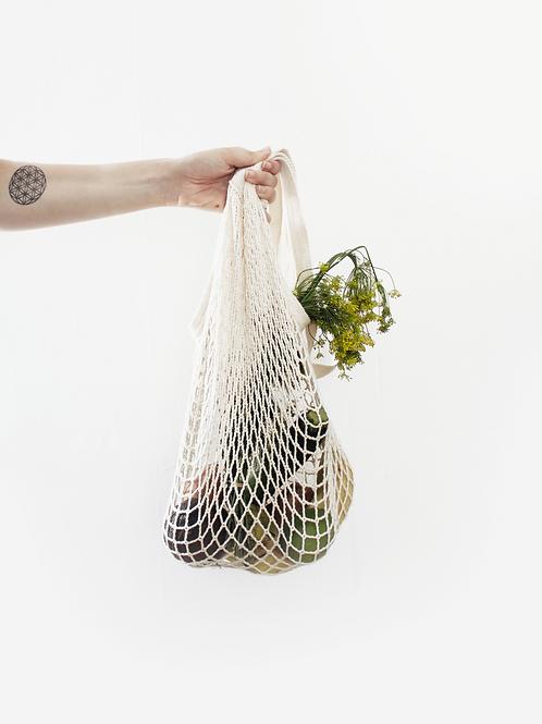 White Eco Friendly Shopping Bag