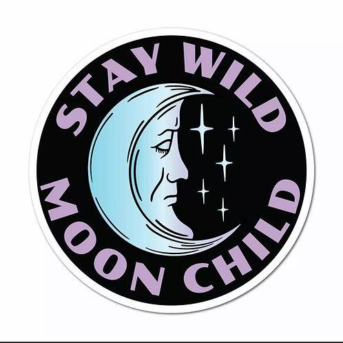 Stay Wild Child Car Sticker