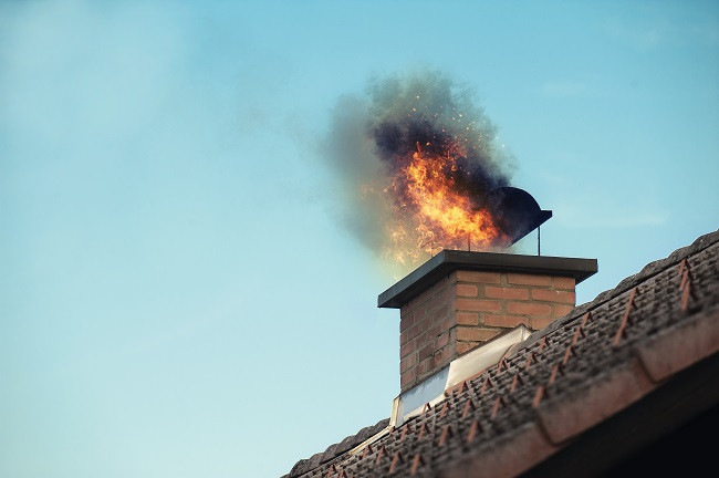 Schenectady NY Home Inspector Get The Facts on Chimney Fires