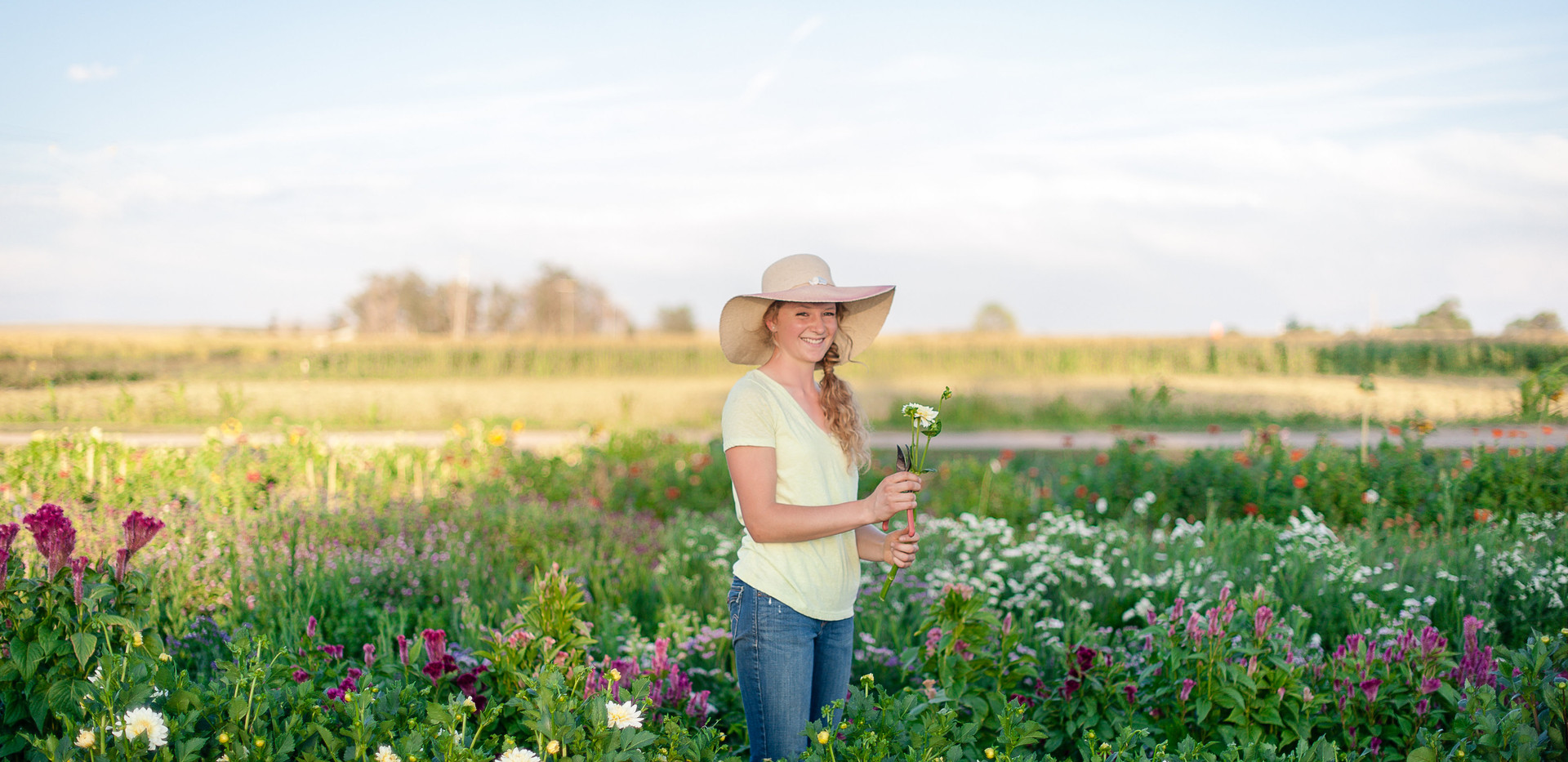 Me in My First Flower Field, Photo Credit: Kira Ellen Photography