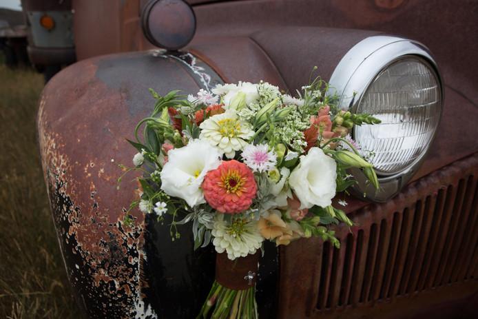 Classic Wedding Bouquet Photo Credit: Wild Lavender Photography