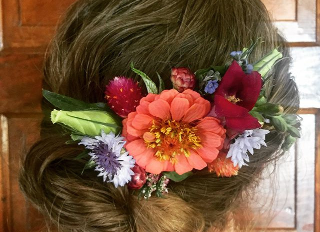 Hair Piece for a Wedding