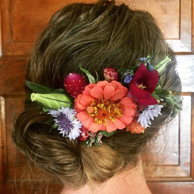 Hair Piece for a Wedding