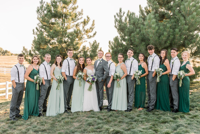 Maddie and Trevor's Wedding, August 2018 Photo Credit: Michele With One L
