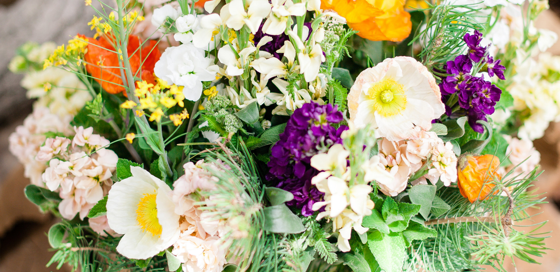 Spring/Woodsy Elegant Centerpiece for Bridal Shower Photo Credit: Kira Ellen Photography