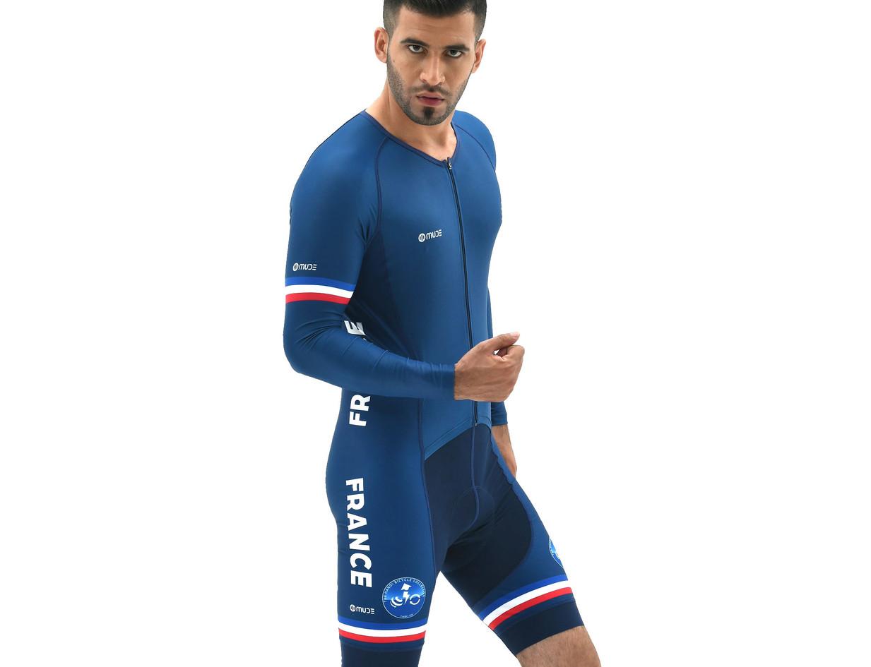 Bike skinsuit French Team
