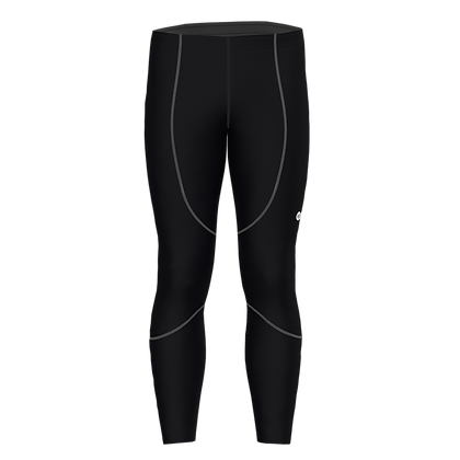 Male Ankle Tights SOLID Black/Grey