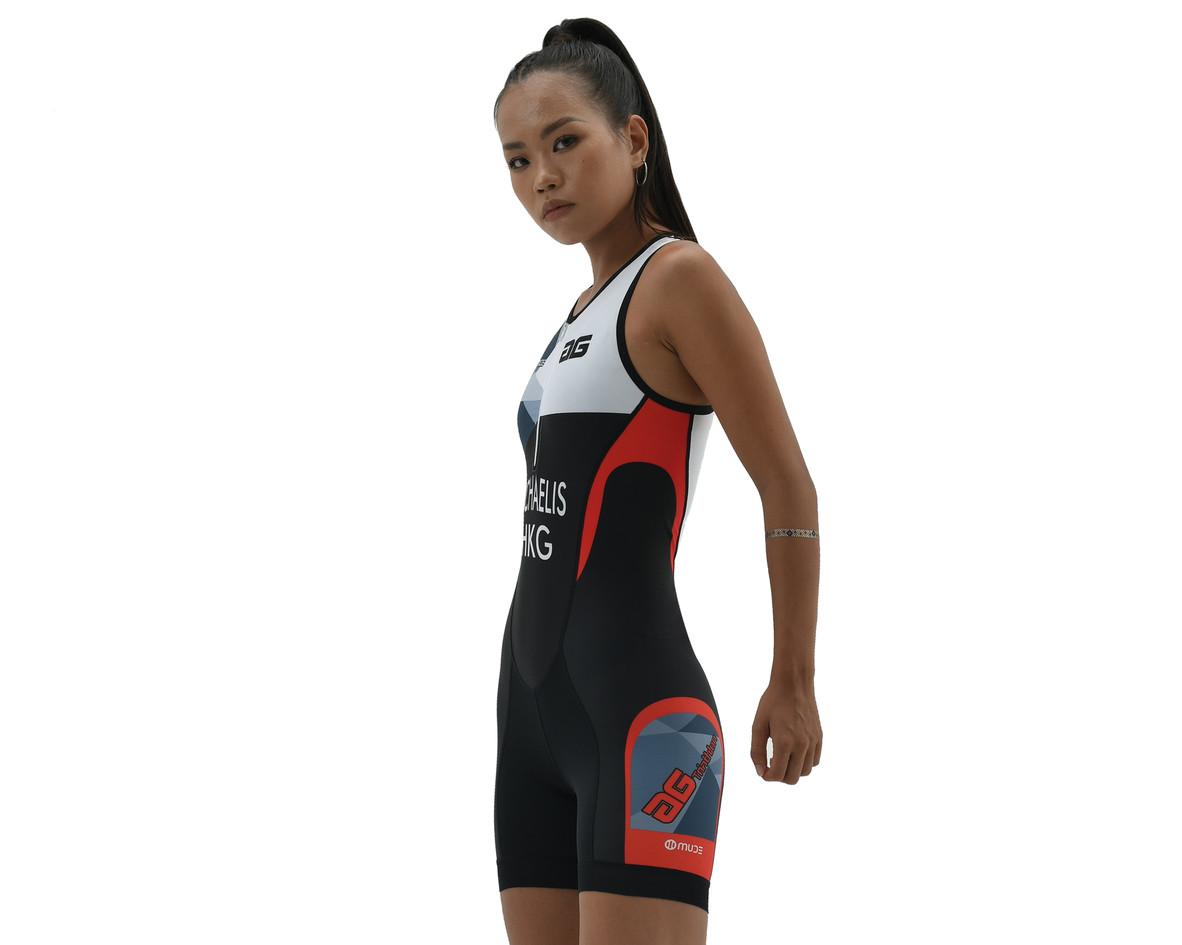 0296-Trisuit Female Sleeveless-Front