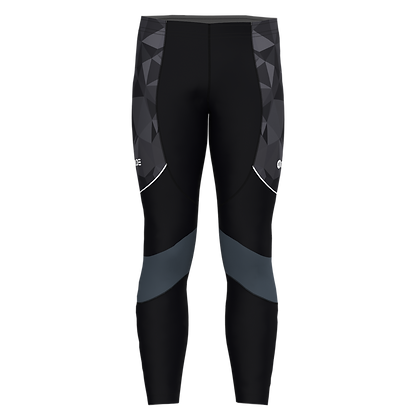 Male Ankle Tights PRISMA Anthracite