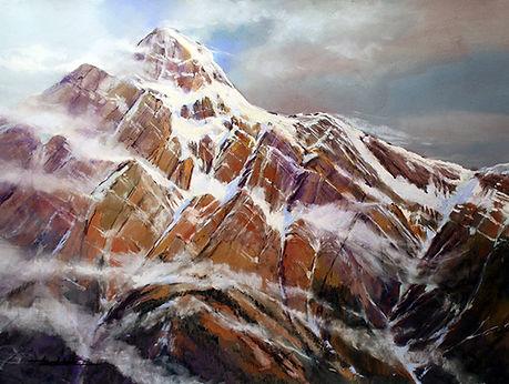 Pyramid Mountain 19.5 x 25.5 300dpi 900.