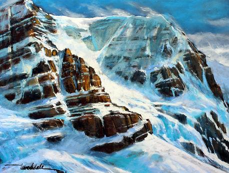 Andromeda Glacier Columbia Ice Fields 16
