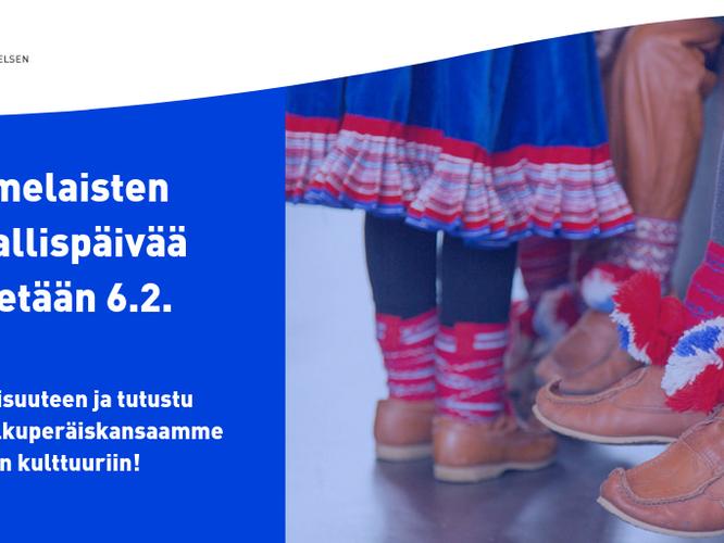 Ministeriö ja Opetushallitus suosittelevat saamelaisten kansallispäivän huomioimista opetuksessa