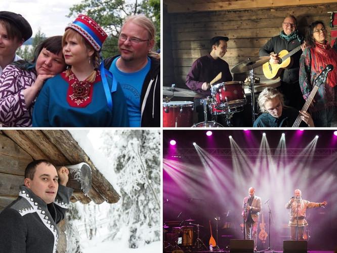 Saamelaismusiikin konsertteja suoratoistona Sajoksesta