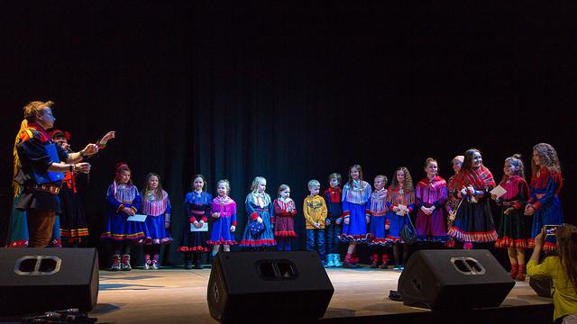 Saamelaisnuorten taidetapahtuma 2019 järjestetään Sajoksessa Karigasniemen koulun sisätilaongelmien takia