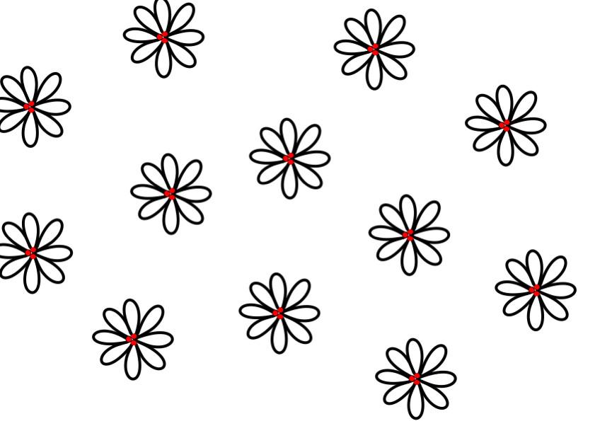 gratis borduurpatroon bloemen