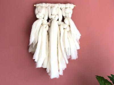 Maak je Eigen Unieke Wanddecoratie met Merino Wol!