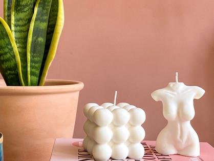 Zo maak je deze trendy kaarsen zelf!