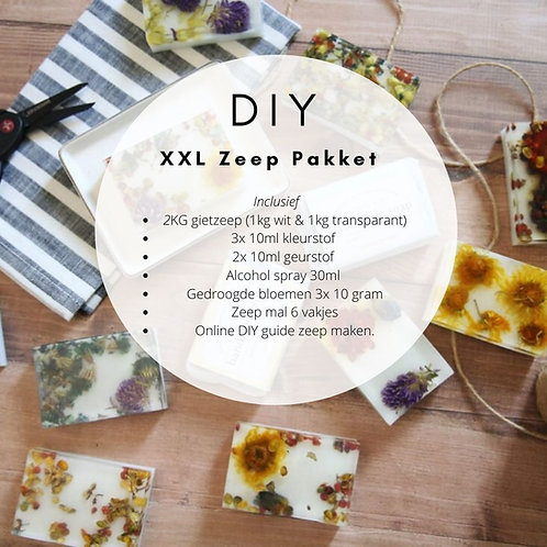 XXL DIY pakket zeep maken
