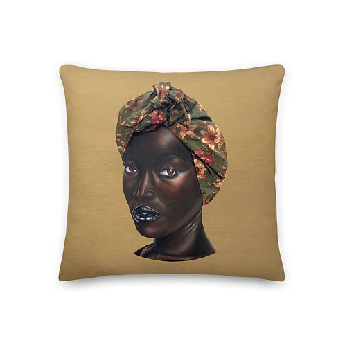 """She Who Sets the Table Shall Sit at It"" by Kyle D. Jordan Premium Pillow"