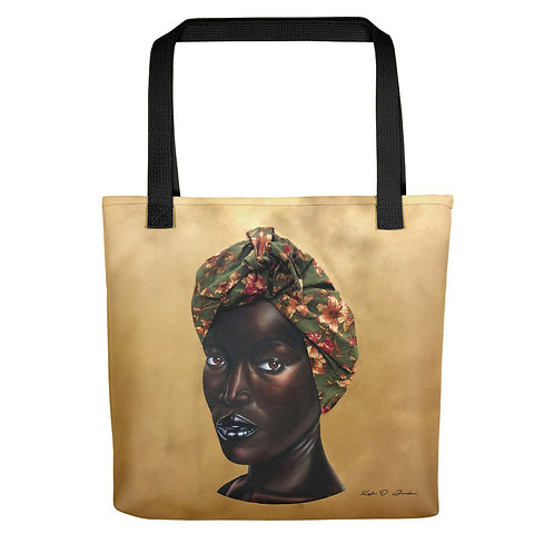 """She Who Sets the Table Shall Sit at It"" Tote bag"