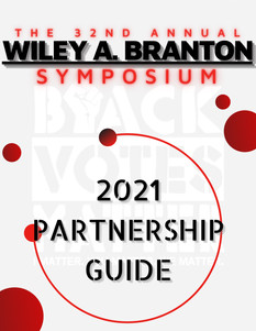 Wiley A. Branton Sponsorship Guide