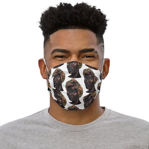 She Pattern Face mask