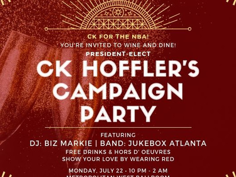 YOU'RE INVITED TO CK'S CAMPAIGN PARTY!!