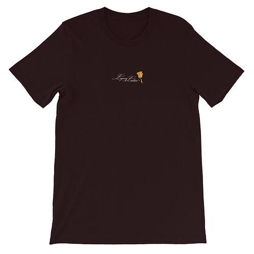 Legacy Logo Short-Sleeve Unisex  Black T-Shirt
