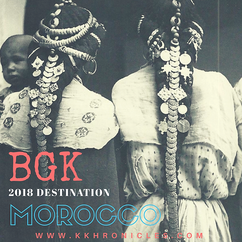 BGK MOROCCAN RETREAT (Monthly Payment)