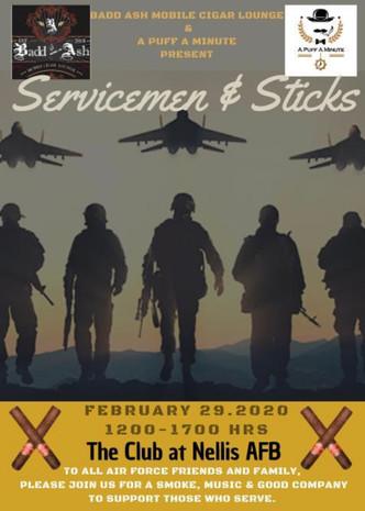 Servicemen & Sticks