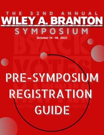 Pre-Symposium Registration Guide