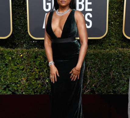 Came Through Drippin' at The 76th Annual Golden Globe Awards In Roberto Coin