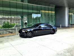 Our Rolls Royce Ghost with Black Forgiato Wheels