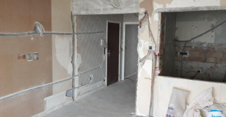 Residentie 21, Oostduinkerke (tijdens de werken)