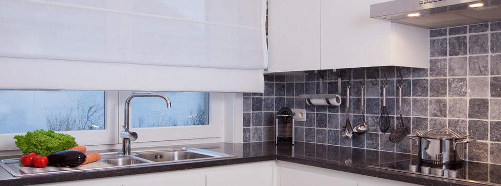 Keuken met natuursteen