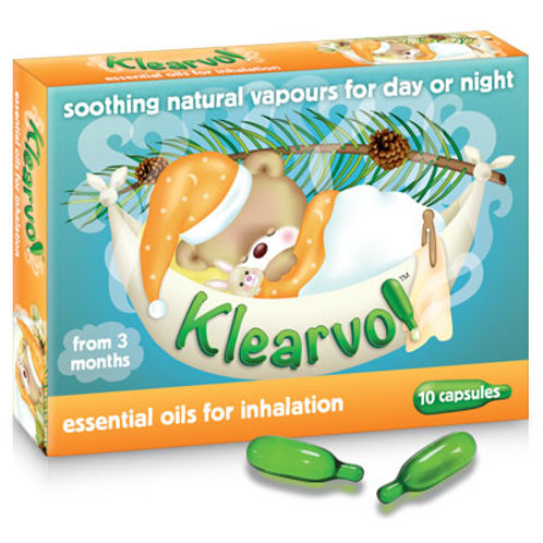 Klearvol Capsules for Inhalation x 10s (UK)