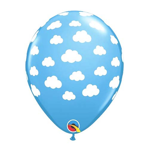 "11"" Cloud Pattern Latex Balloon"