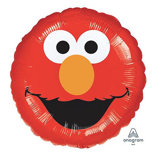 "18"" Sesame Street Elmo Head Helium Balloon - y39"