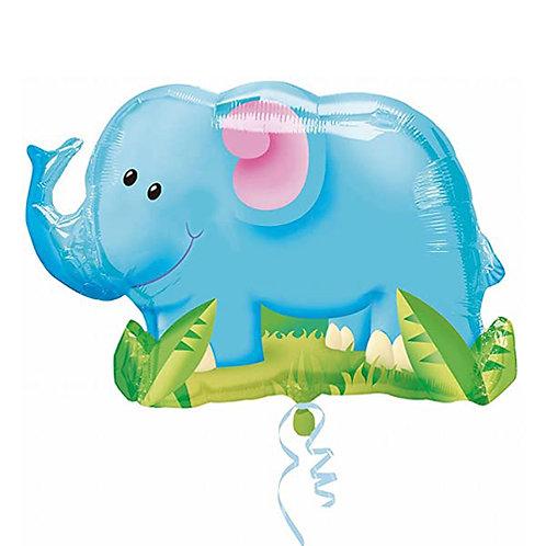 "30"" Cute Elephant Helium Balloon - z04"