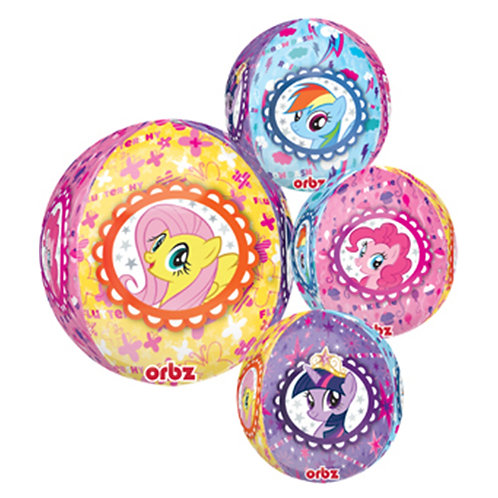 "16"" Sphere Shape My Little Pony Helium Balloon - y54"
