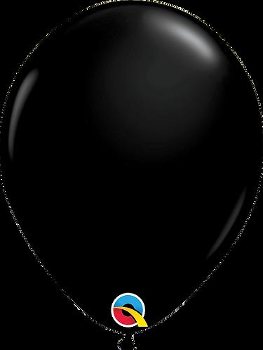 "11"" Standard Latex Balloon - Black"