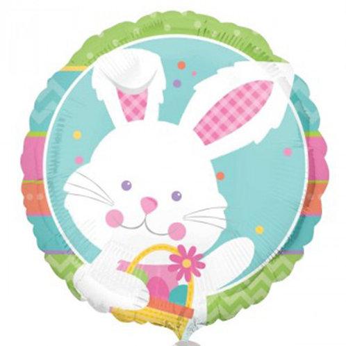 "18"" Easter Rabbit Helium Balloon - z47"