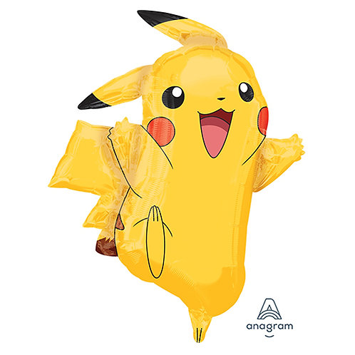 "30"" Pokemon Pikachu Helium Balloon - y78"