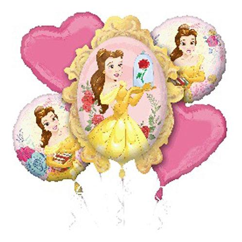Princess Belle Helium Balloon Bouquet - bq38
