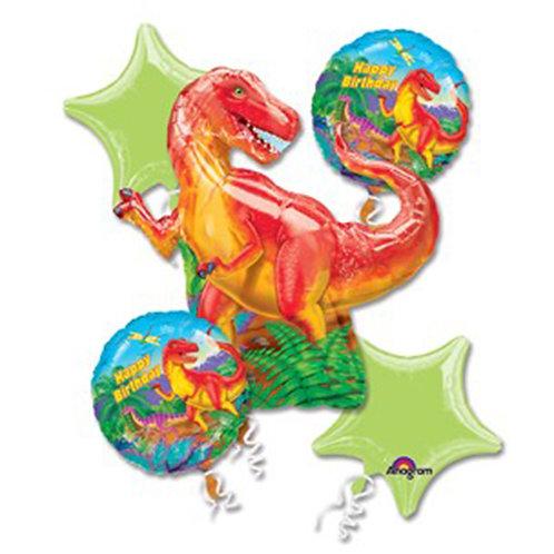 Dinosaur T-Rex Helium Balloon Bouquet - bq16