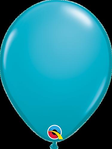 "11"" Standard Latex Balloon - Aqua Blue"